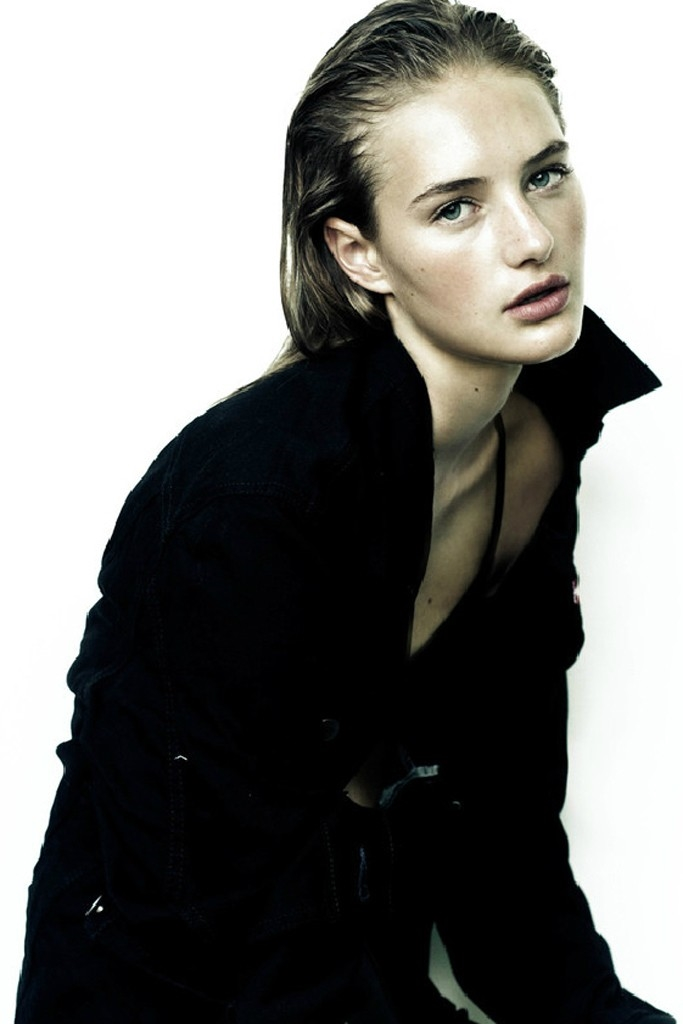 Sanne Vloet First Face for: Ralph Lauren