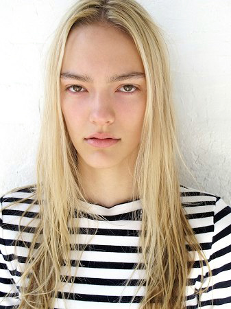 Steph Smith First Face for: Proenza Schouler