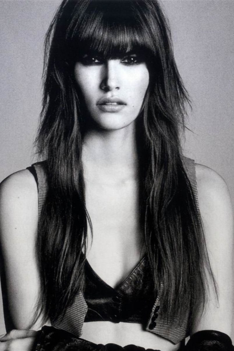 Vanessa Moody First Face for: Sonia Rykiel