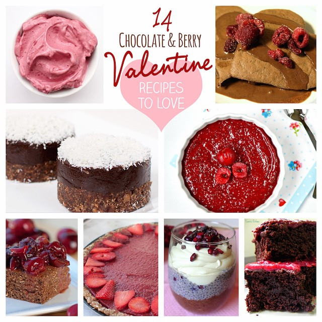14 Chocolate + Berry Valentine's Recipes to Love💗at #feastingonfruit.com today (link in bio) Some recipes are my own, but most are from some of my favorite fellow bloggers including @unconventionalbaker @stephsplate @winwinfood @cearaskitchen @rebeccagf666 @theglowingfridge @gastrawnomica @shinewithnature, and more! Thanks ladies for the fabulous recipes 😘 • Check it out for some serious Valentinespiration! ❤️