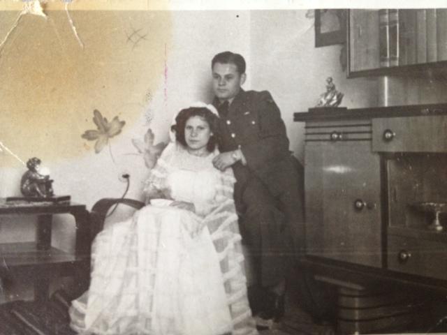Rina and MoiseMevorach, Libya, 1943