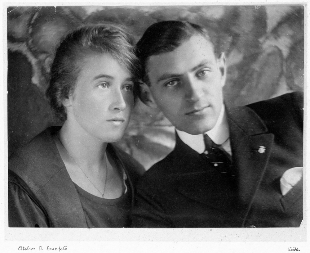 Marysia's parents Regina and Henryk Bierzynski
