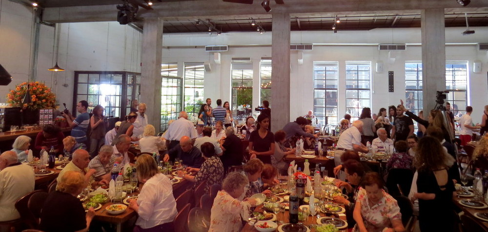 'immediate Help for Holocaust Survivors' Annual Seder, Tel Aviv