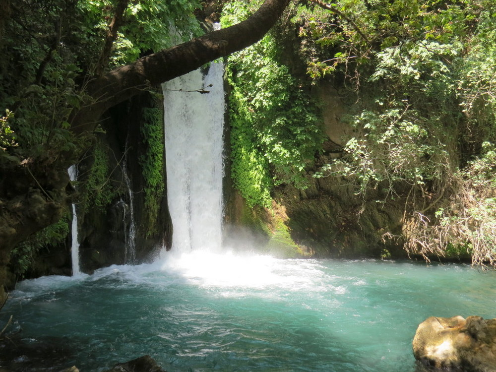 Banias spring, Golan Heights