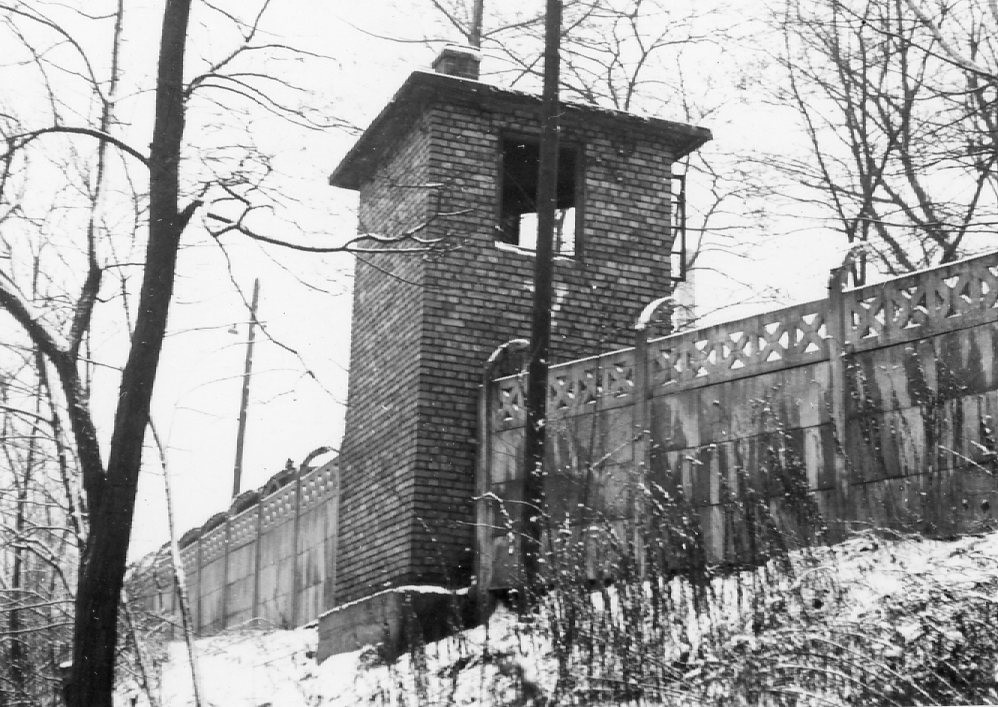Little remains of Gleiwitz today. This photo of the walls was taken in 1969 (Photo: auschwitz.org)