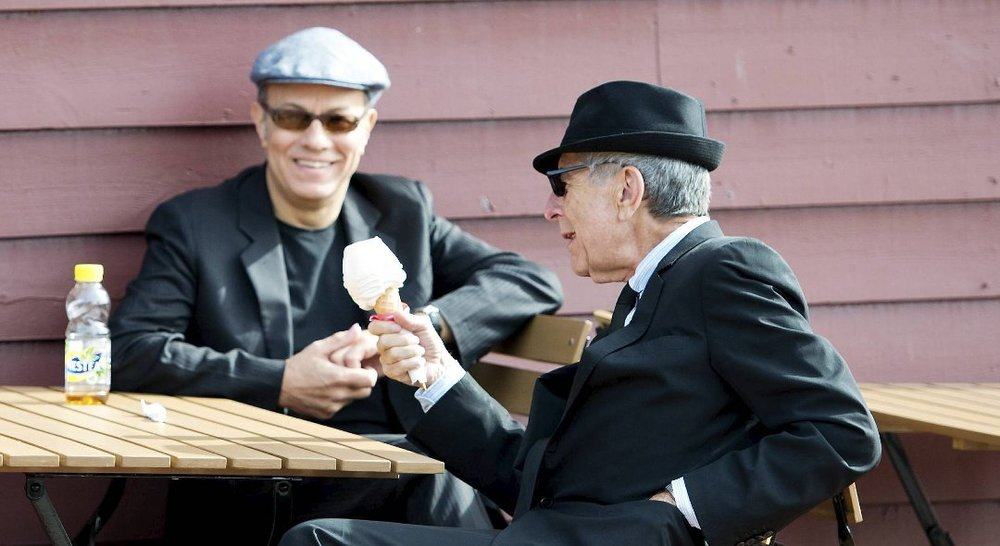 Cohen stopped for an ice-cream when he was in Bergen, Norway for a concert in 2012. (Photo: Rune Johansen) The reporter asked him if he remembered his previous concert in 1988. Cohen replied that he did, wasn't it some time after the Civil War, in 1865?