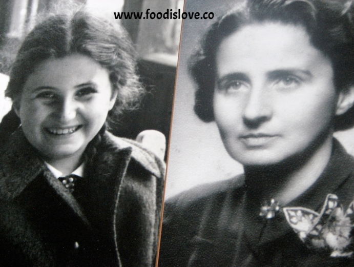 Eva's sister Vera and her mother Elisabeth