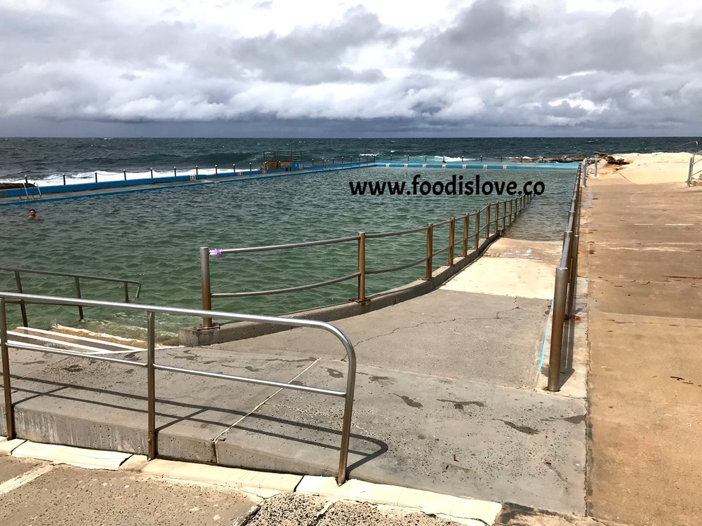 Thre ocean pool at Dee Why is Olympic size.