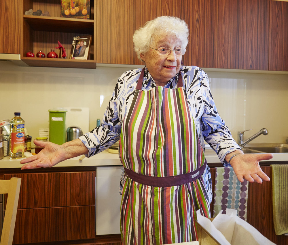 Saba Feniger in her Melbourne kitchen, 2015