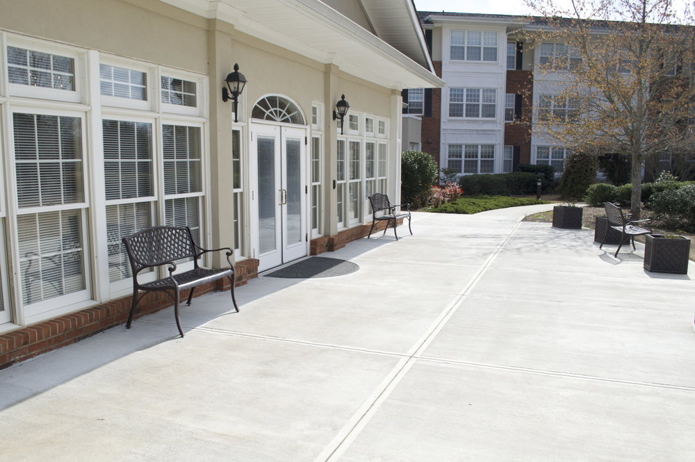 Ordinaire New Patio At Wesley Woods Senior Living Newnan, GA