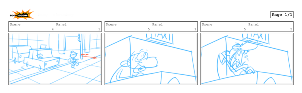 Rough blocking of two scenes.