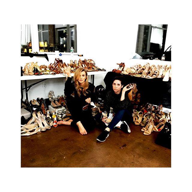 Jayne and I @ Hour 13. #lifeofastylist #stylist #shoes #fashionstylist @jem48