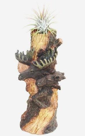 #449 Moose vase