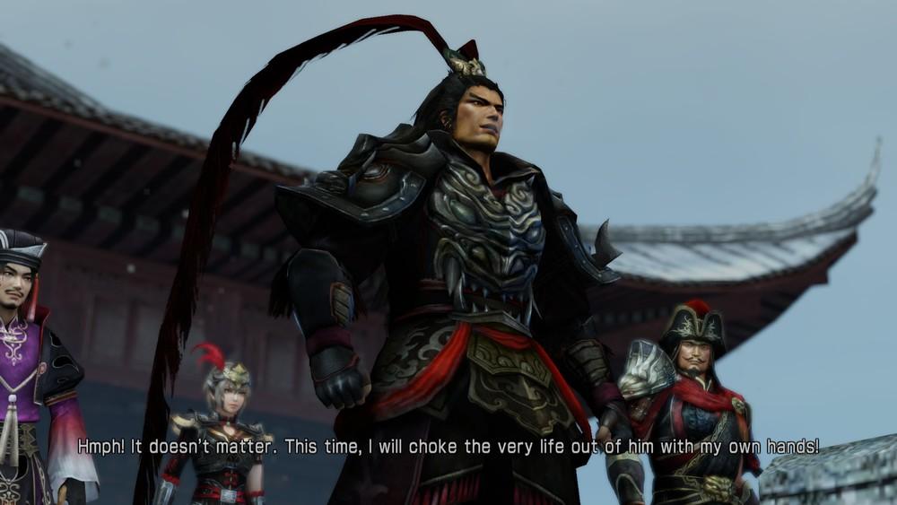 Lu Bu in his Story Mode