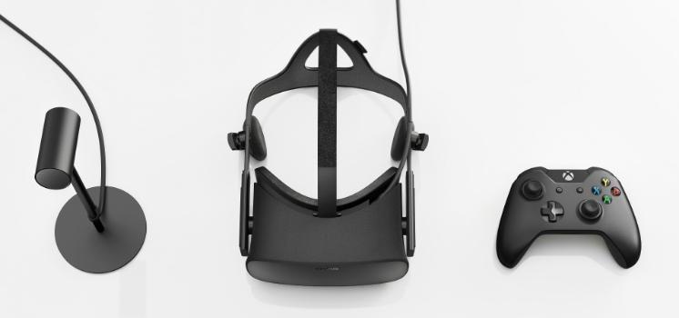 Oculus Rift setup