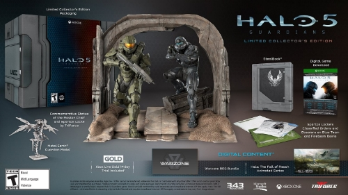 The Master Chief, Spartan Locke, and a bunch of goodies
