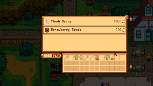 Strawberries are a tad expensive at the start of the game, but worth the investment
