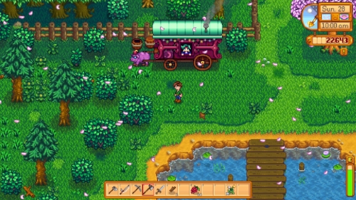 The prices can be high, but the merchant can provide key items for the Community Center
