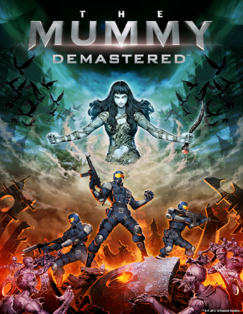 The Mummy Demastered Key Art.png