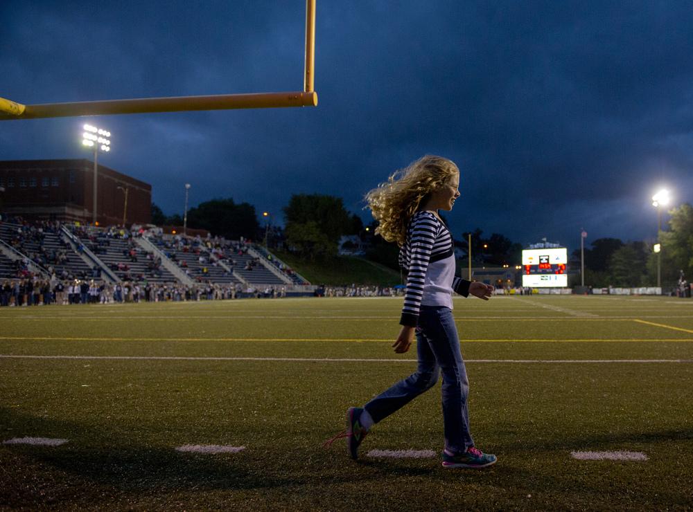 Friday night football, Evansville, Ind.Oct. 3, 2014.