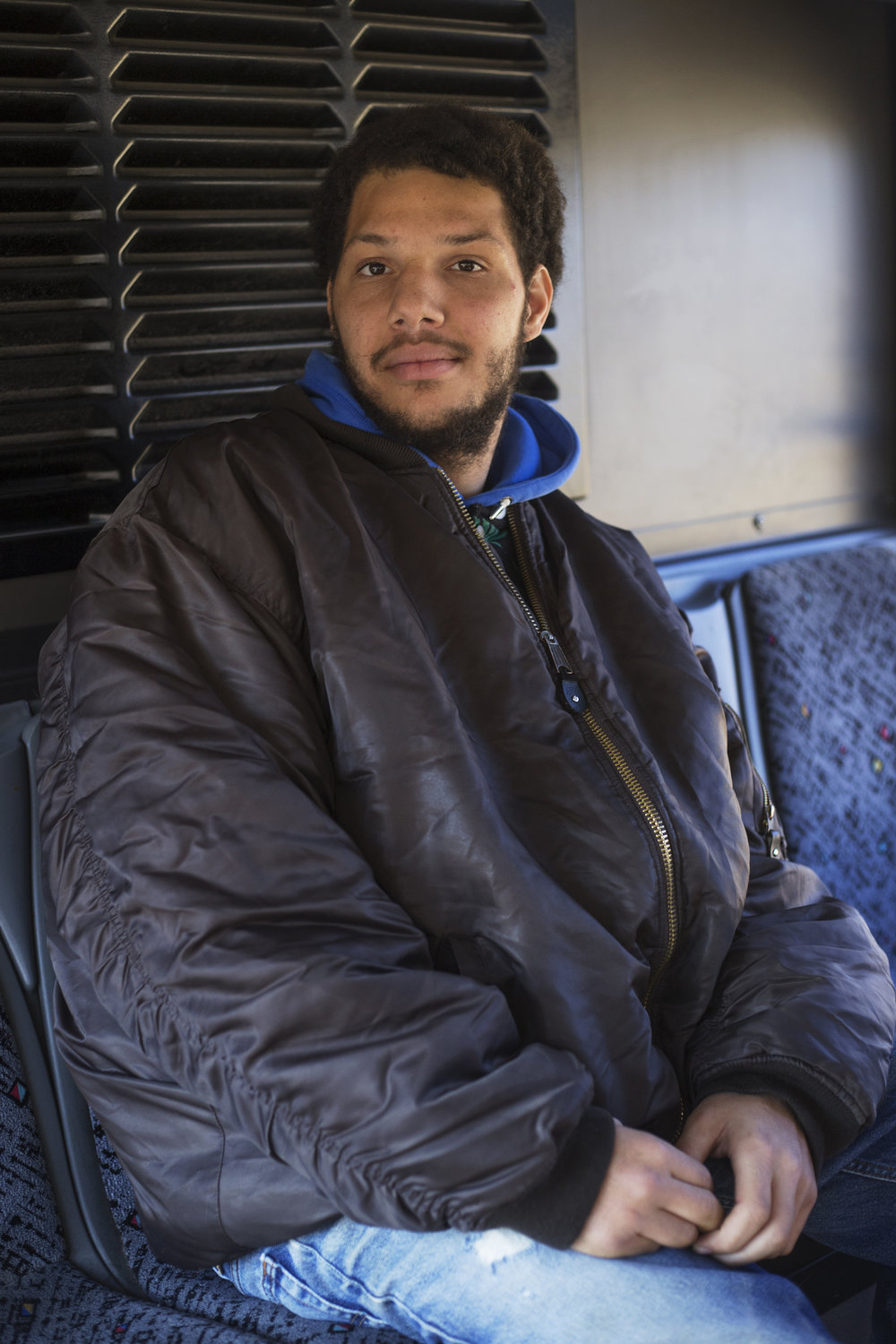 Tevante, Knoxville Area Transit, January 2018.