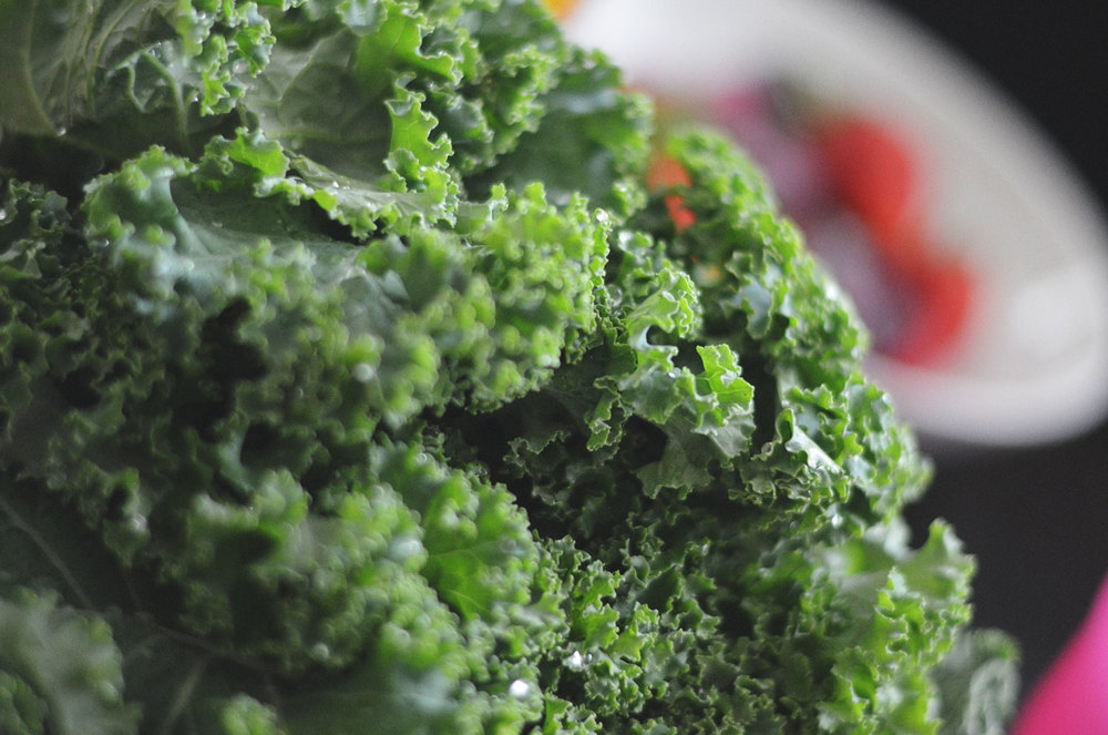 Kale. The darker the green. The better the nutrients.
