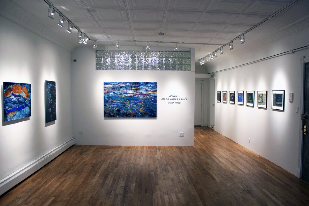 GOWANUS: OFF THE WATER'S SURFACE - INSTALLATION VIEW