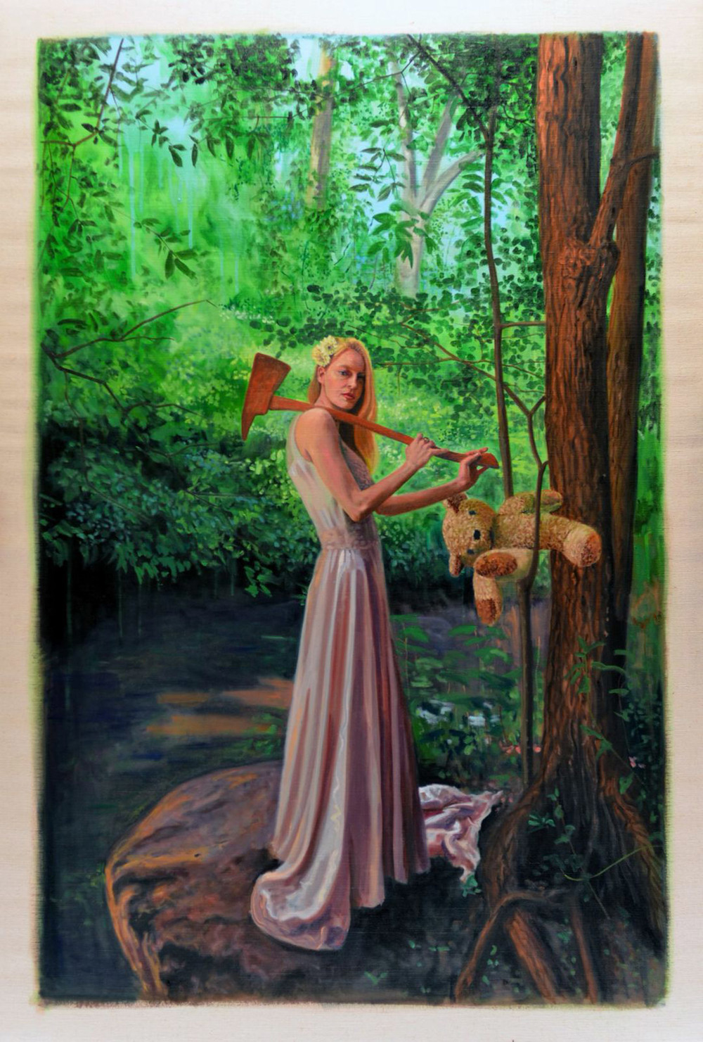 Girl with Axe, 2014