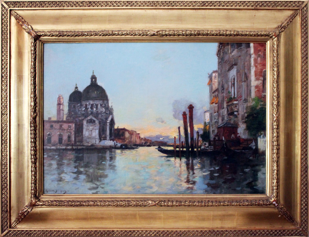 Grand Canal at Sunset, 19th Century