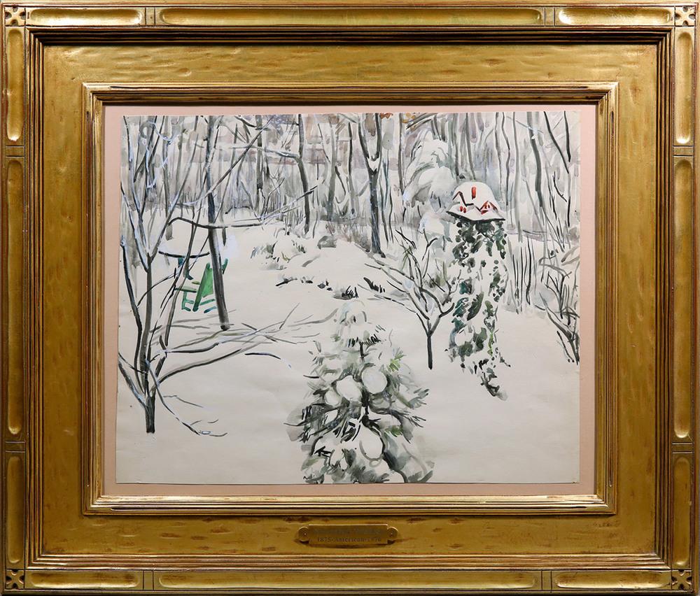 Snow Scene, 20th Century