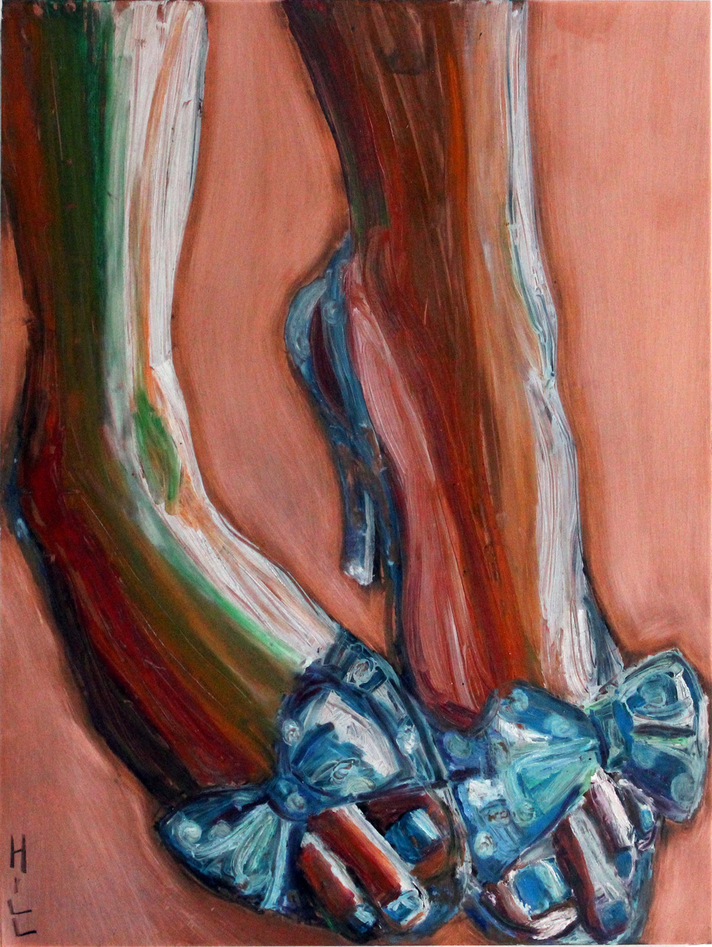 Blue Dorothy Shoes, 2002