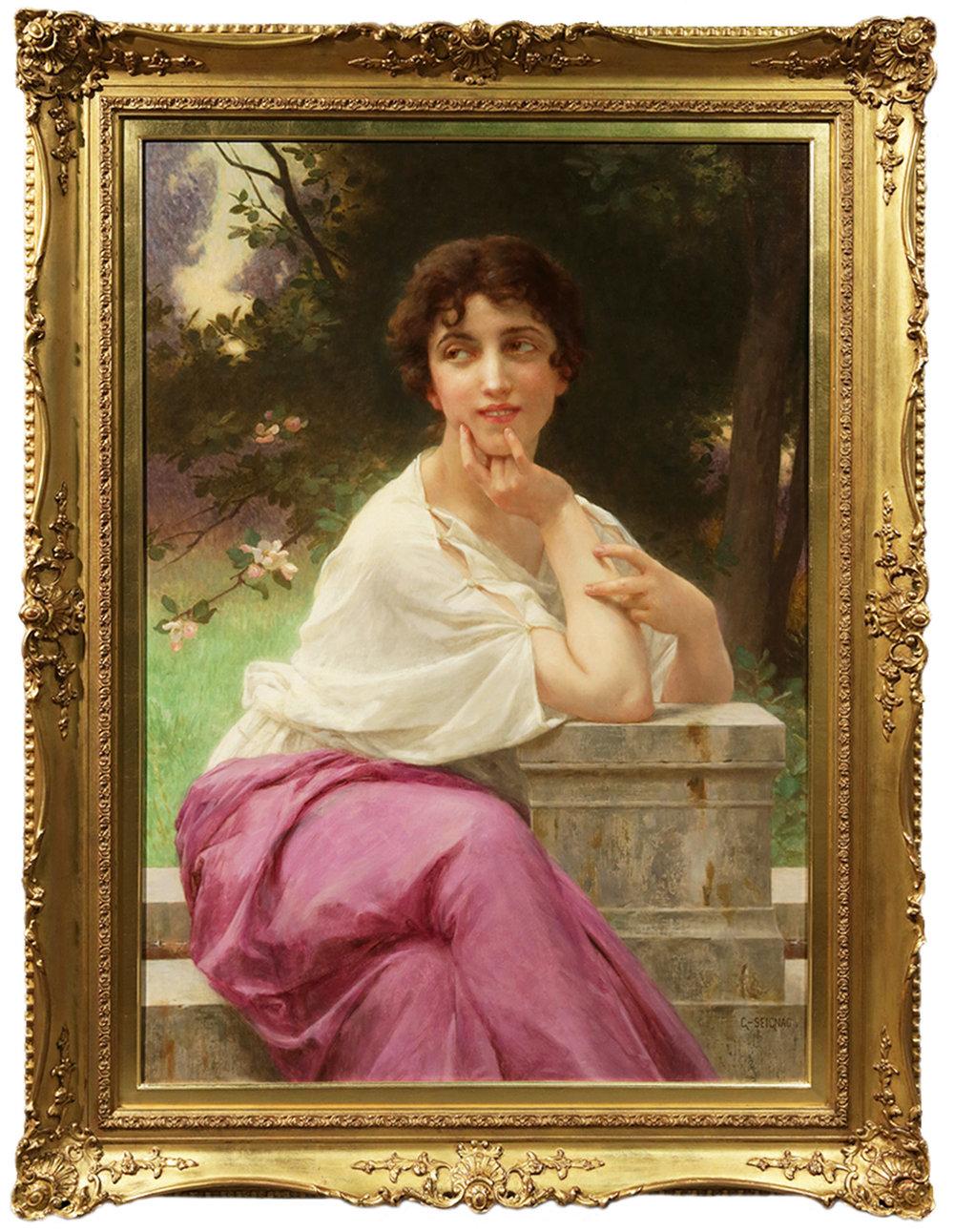 Sonrisa, ca. 1890