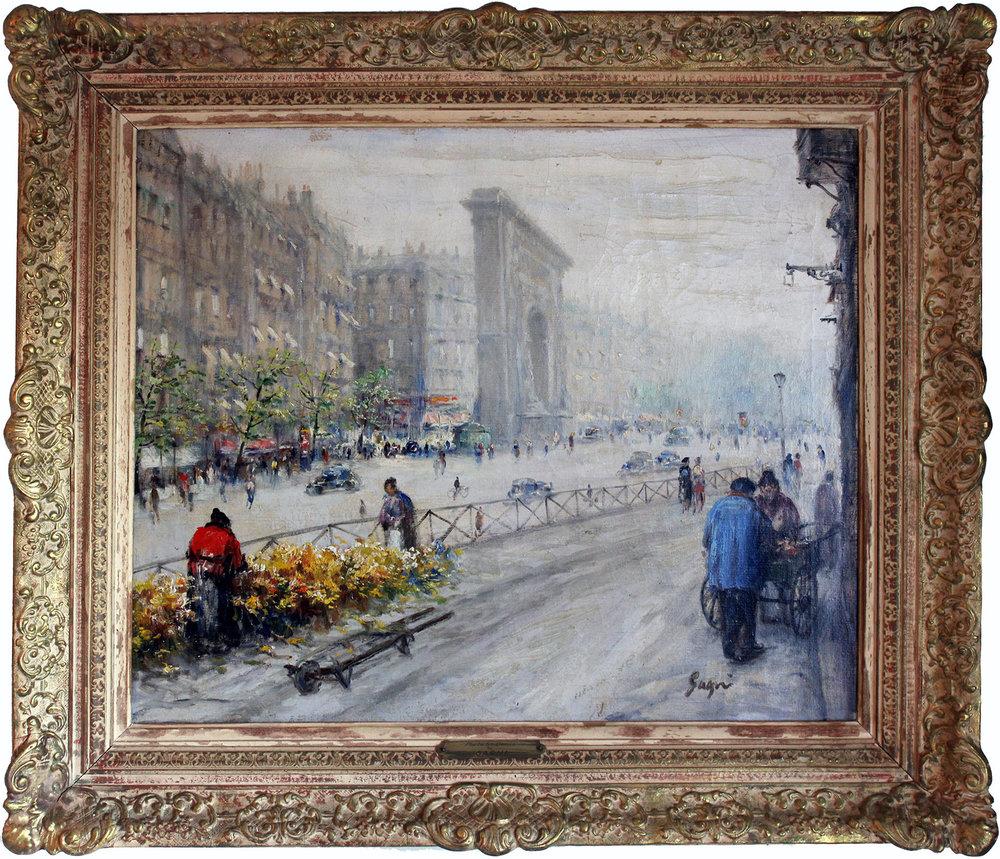 Porte St. Denis, Circa 1900