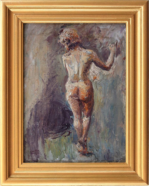 Figurative Nude Woman, Circa 1950