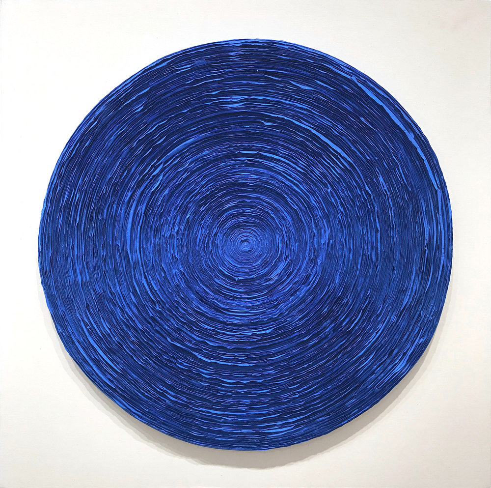 Wave (Electric Blue), 2016