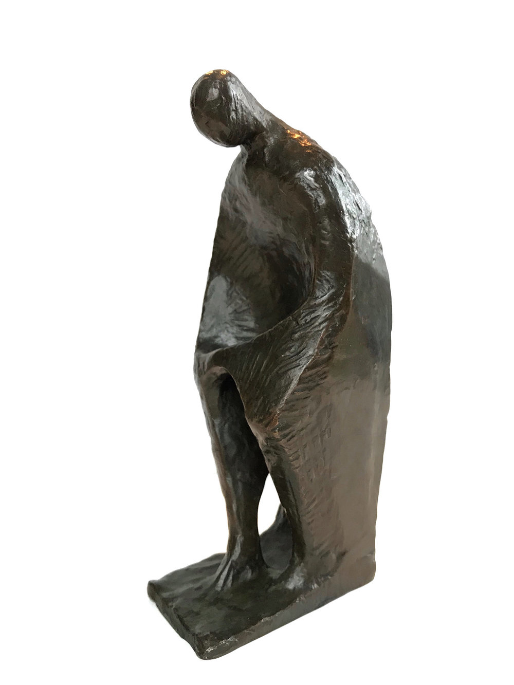 Seated Figure Looking Down, 20th Century