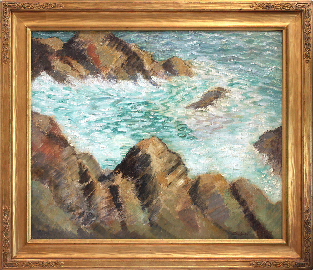 Seashore Landscape, 20th Century