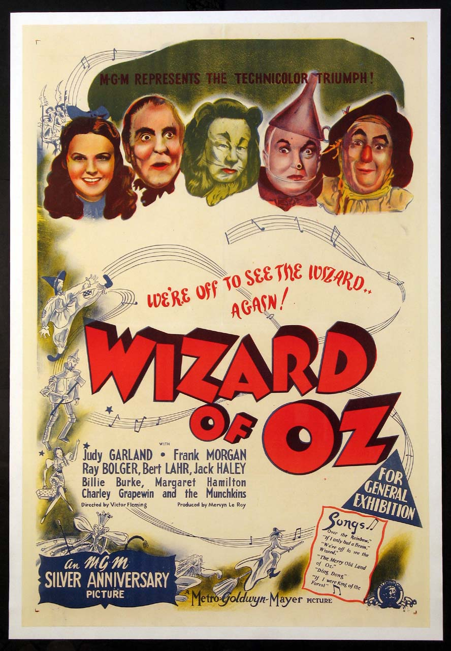 Wizard of Oz Film - Aztec Theater @ The Aztec Theater