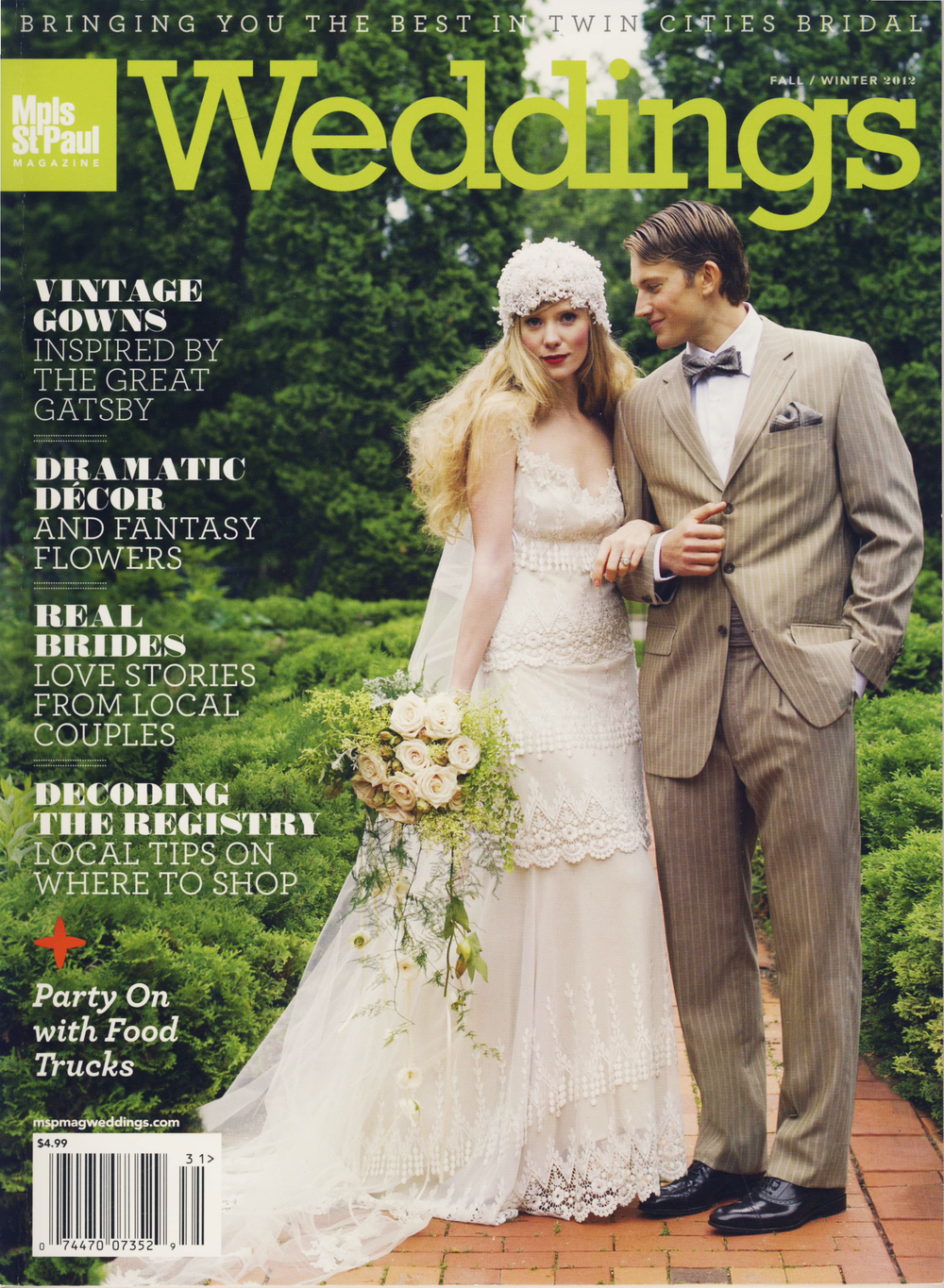MSP Weddings, Fall/Winter 2012