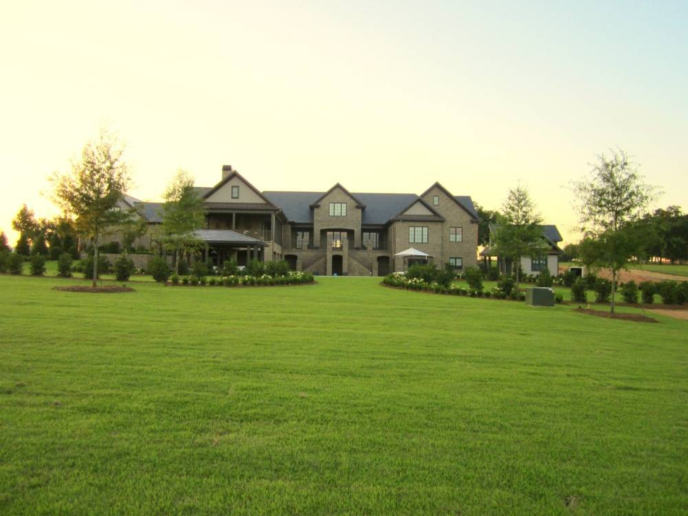 Patton Residence Landscape Design in Greer SC