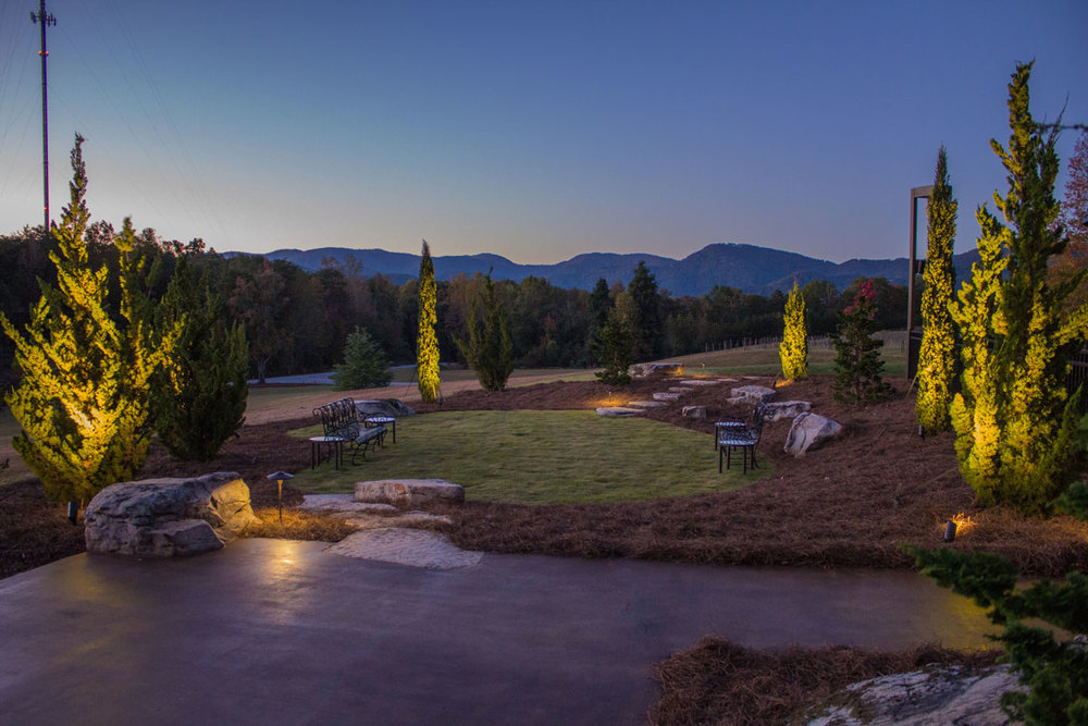 Greenville SC Outdoor Landscape Lighting Design and Install