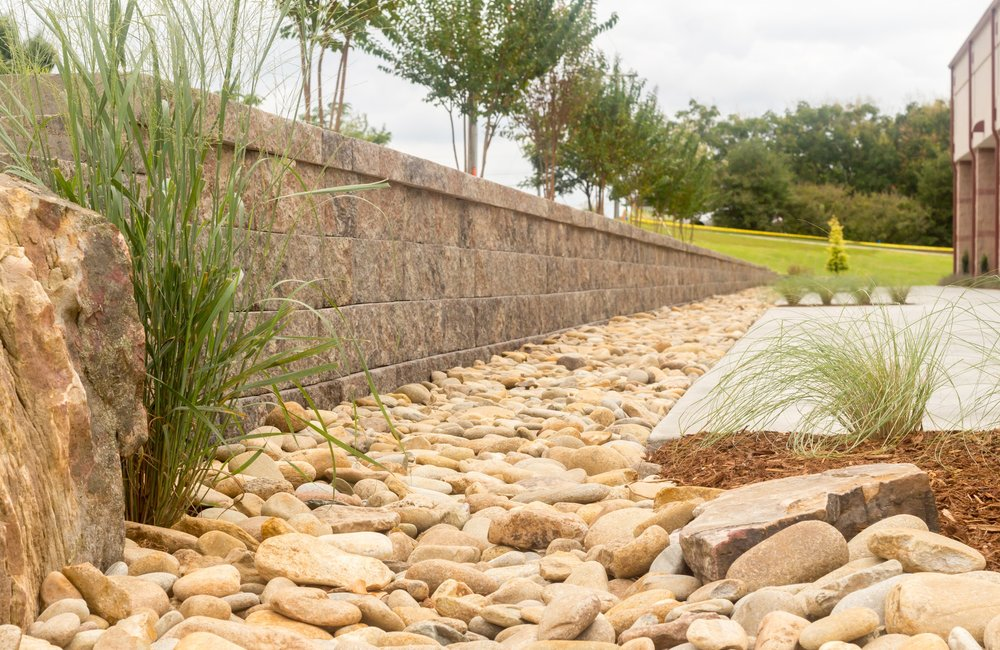 Landscape Design Middle Tyger YMCA rockscapes