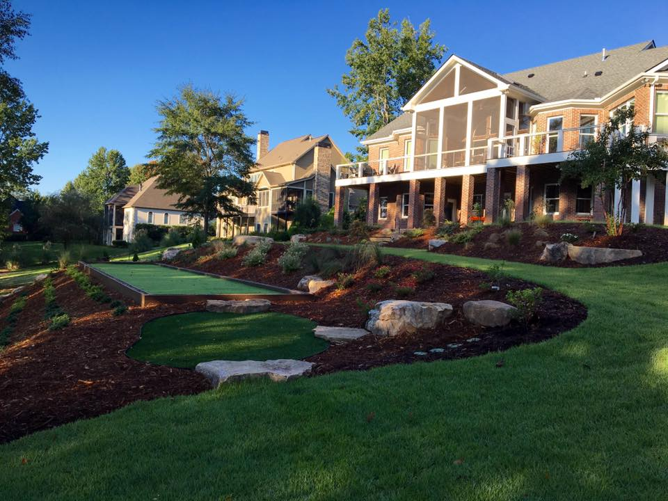 Various Landscaping Projects by Landart Landscapes Greenville SC
