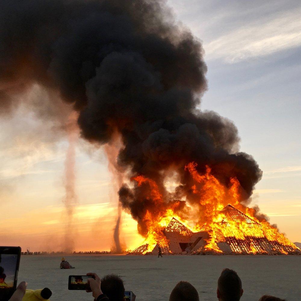 Catacomb of Veils, Burning Man 2016, Black Rock Desert, Nevada