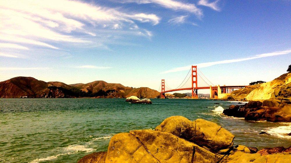 Baker Beach, Golden Gate National Parks Conservancy, September 22, 2014.