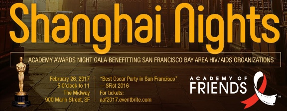 Several of my trusted partners and I have teamed up to donate a health and wellness package of gift certificates to Academy of Friends' 2017 Gala event, Shanghai Nights, coming up this Sunday, February 26. Over the last 36 years, AoF has distributed over $8.7 million to more than 73 organizations serving men, women, and children affected by HIV/AIDS. Special thanks to: Brandon Doyle at 360 Skin, Dr. Cameron Quillian, D.C., Dr. Dan Abels at Brannan Street Acupuncture, and Gil Colorina at SF Manscaping. Click to learn more about The Bold Massage's community of trusted partners and beneficiary organizations.