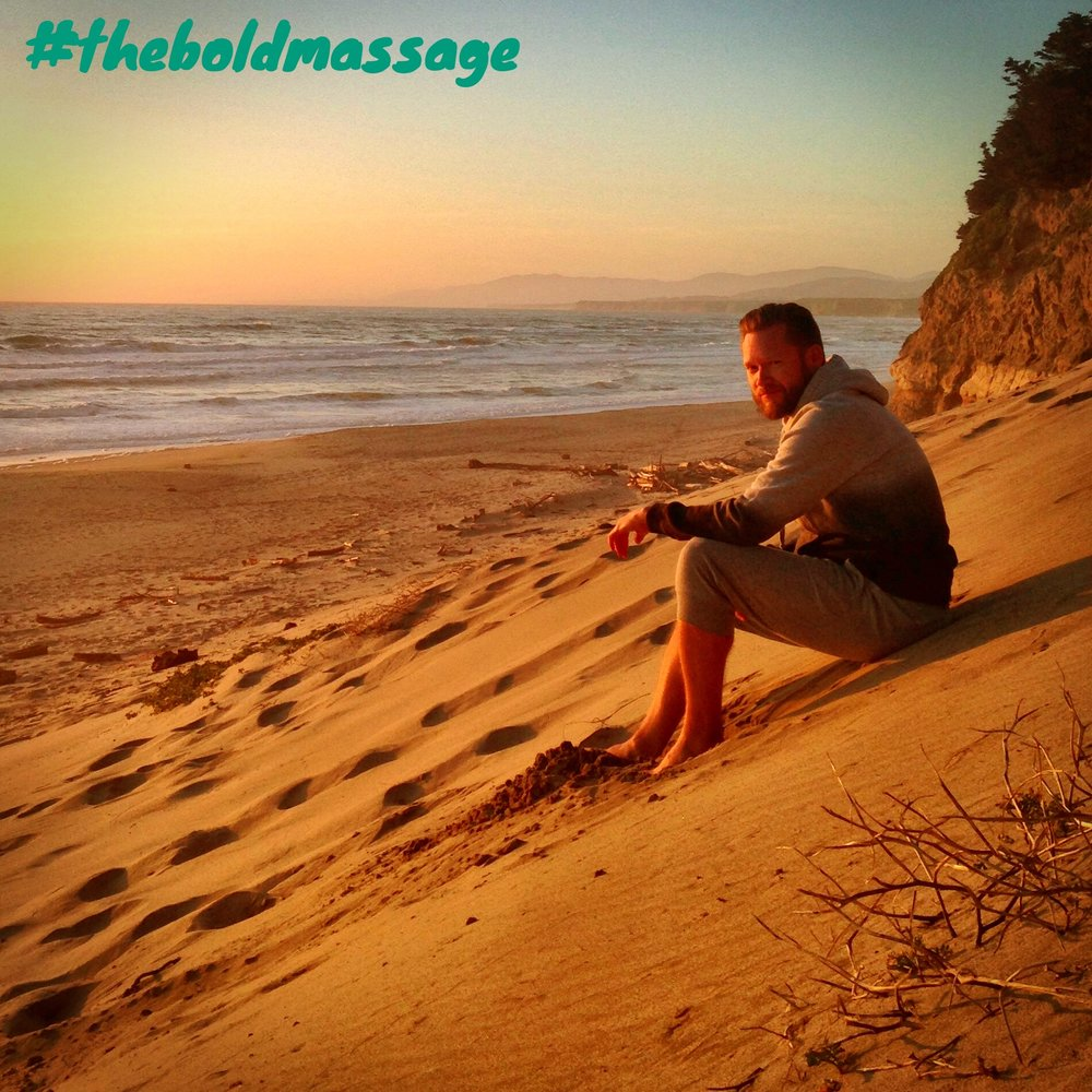 San Gregorio State Beach, Half Moon Bay, California #theboldmassage