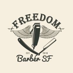 $10 off - Click to learn more and book a fresh haircut with Harley at freedombarbersf.com.