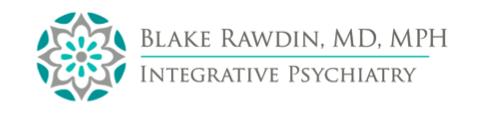 Dr. Blake Rawdin, Integrative Psychiatrist