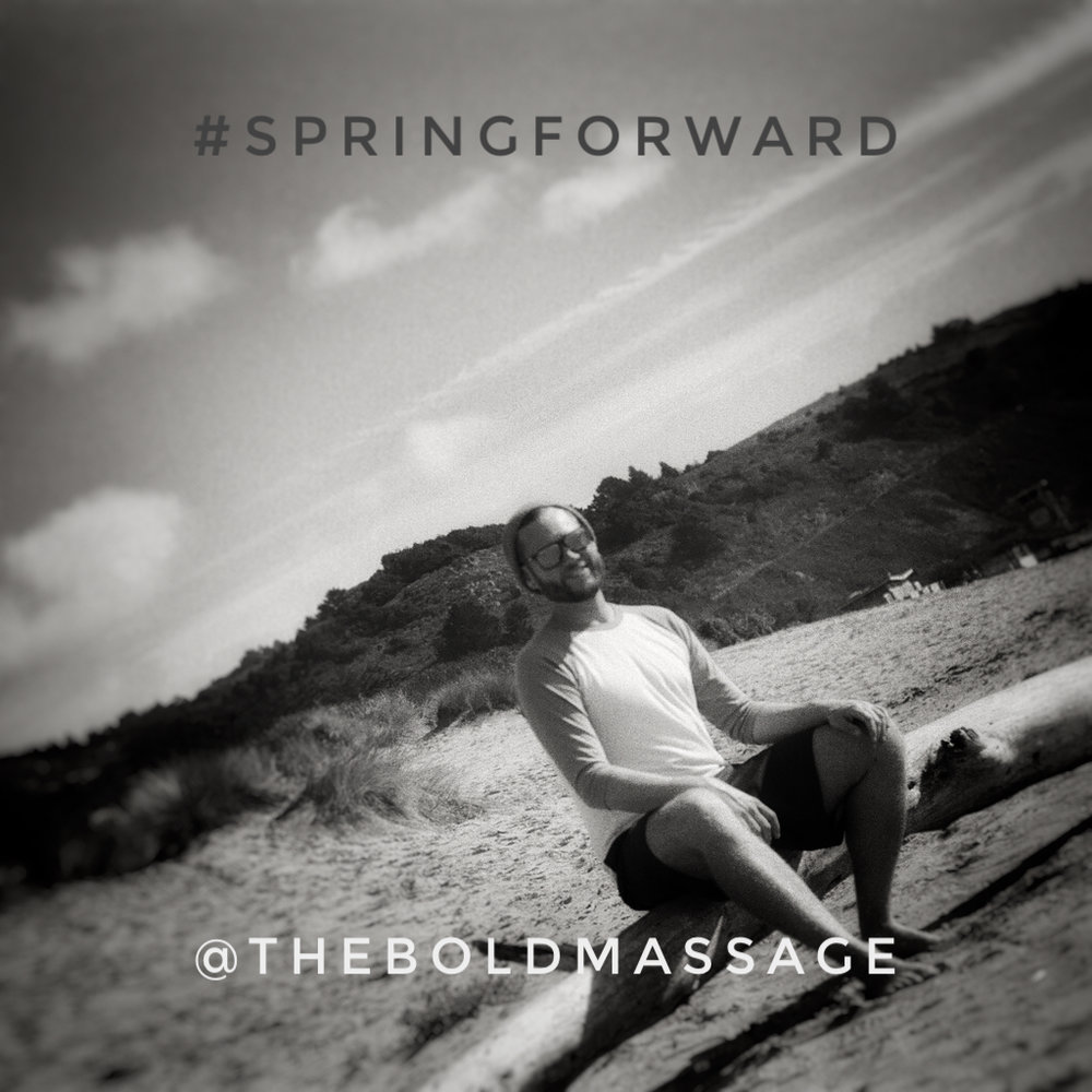 Spring forward and start your annual  membership  today! Couples save an additional 5% when they join together!   Stinson Beach, Marin County, California  #TheBoldMassage #SpringForward #Memberships #NewMemberSpecial #StinsonBeach #SpringIsInTheAir